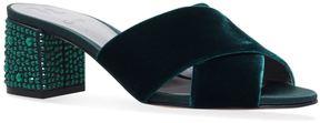 Gina Janiero Velvet Sandals