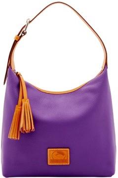 Dooney & Bourke Patterson Leather Paige Sac Shoulder Bag - VIOLET - STYLE