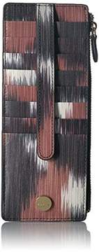 Lodis Boho Credit Card Case with Zipper Pocket