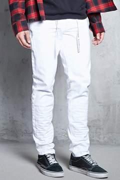 21men 21 MEN Pull Ring Crinkled Jeans