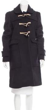 Mulberry Wool Toggle Coat