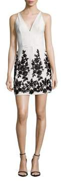 Dress the Population Codi Zippered Dress