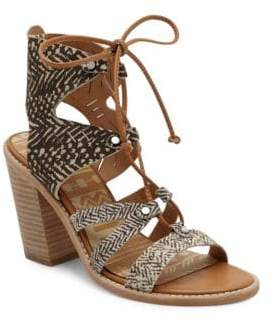 Dolce Vita Luci Leather Sandals