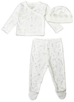 Stella McCartney Unisex Little Starling Shirt, Footie Pants & Cap Gift Set - Baby