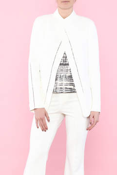 Ark & Co White Open Type Jacket