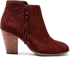 Sole Society Zada Woven Ankle Bootie