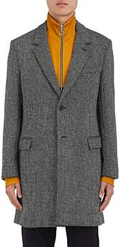 Ami Alexandre Mattiussi Men's Wool-Blend Birdseye Topcoat