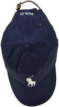Polo Ralph Lauren Blue Logo Detail Cap