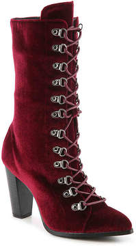 Penny Loves Kenny Women's Argent Velvet Boot