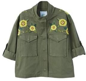 MANGO Bead embroidery jacket
