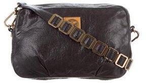 Tory Burch Leather Crossbody Bag - BLACK - STYLE