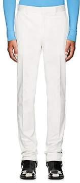 Calvin Klein Men's Striped Tech-Twill Flat-Front Trousers