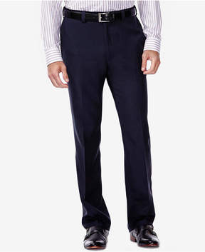 Haggar eCLo Stria Classic Fit Dress Pants