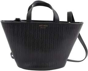 Meli-Melo Black Leather Handbag