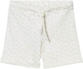 Mini A Ture Noa Noa Miniature White Basic Printed Shorts