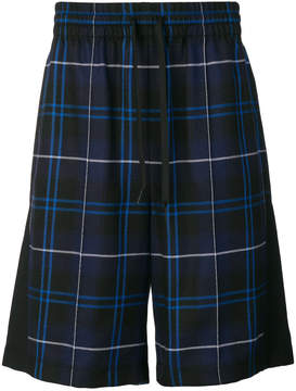 Alexander Wang checked bermuda shorts