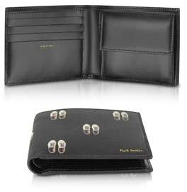 Paul Smith Men's Black Leather Wallet.