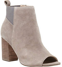 Sole Society Peep-Toe Booties - Vista
