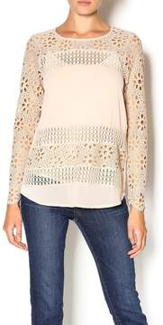 Double Zero Foundation Lace Blouse