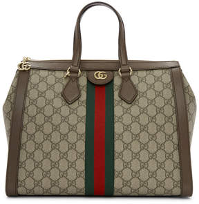 Gucci Beige Ophidia GG Supreme Bag