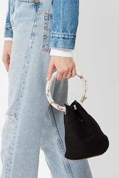 Urban Outfitters Tortoise Ring Handle Bucket Bag