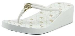 Bebe Rylie Open Toe Synthetic Flip Flop Sandal.