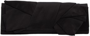Giuseppe Zanotti Black Cloth Clutch Bag