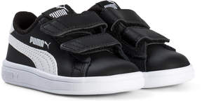 Puma Black Smash Velcro Trainers