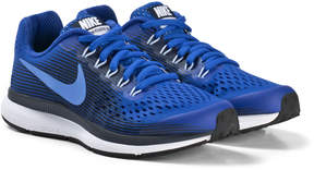 Nike Blue and White Zoom Pegasus Running Shoes