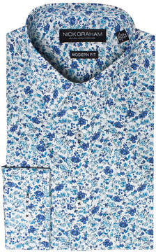 Co GRAHAM AND Graham And Long Sleeve Woven Floral Dress Shirt - Fitted