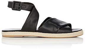 Diane von Furstenberg WOMEN'S IONA LEATHER ESPADRILLE SANDALS