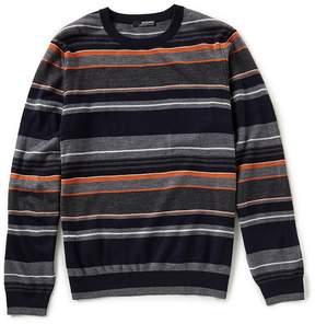 Murano Modern Performance Stripe Crew Sweater
