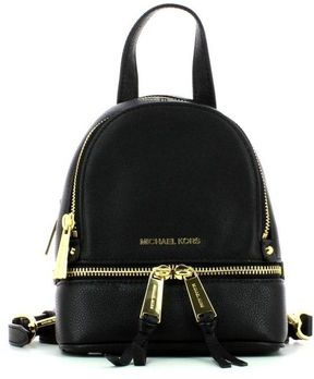 MICHAEL Michael Kors Extra Small Rhea Backpack - BLACK - STYLE
