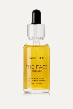 Tan-Luxe – The Face Anti-age Rejuvenating Self-tan Drops – Light/medium, 30ml