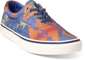 Ralph Lauren Thorton Twill Low-Top Sneaker