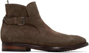 Officine Creative Brown Princeton 60 Buckle Boots