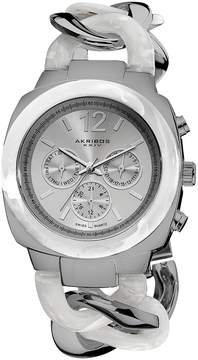 Akribos XXIV Multi-Function SilverDial Ladies Watch AK641SS