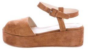 Maryam Nassir Zadeh Flatform Ankle Strap Sandals