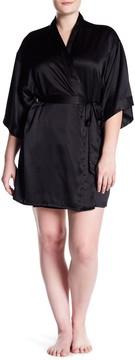 Felina Gem Satin Robe (Plus Size)