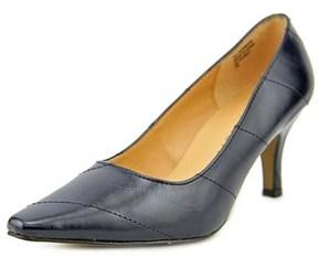 Karen Scott Clancy Women Pointed Toe Synthetic Blue Heels.
