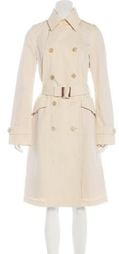 Tod's Double-Breasted Trench Coat