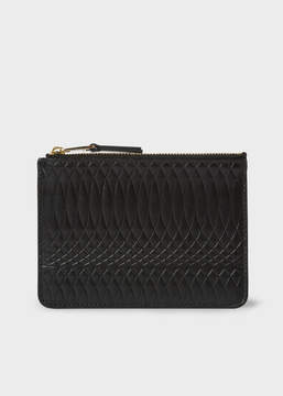 Paul Smith No.9 - Black Leather Zip Pouch