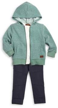 7 For All Mankind Baby & Little Boy's Three-Piece Jacket, Tee and Pants Set