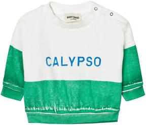 Bobo Choses Green Calypso Baby Boat Sweatshirt