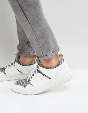 Call it SPRING Servan Knitted Sneakers In White