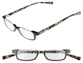 Eyebobs Men's What Inheritance 46Mm Reading Glasses - Black With Tortoise