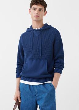Mango Outlet Kangaroo pocket sweater