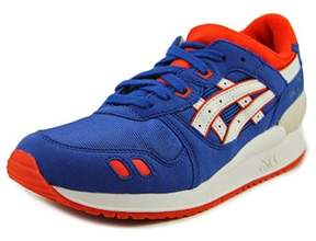 Asics Gel Lyte Iii Gs Round Toe Synthetic Sneakers.