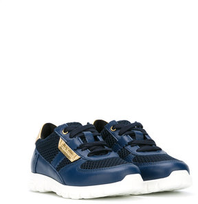 Dolce & Gabbana Kids perforated lace-up sneakers