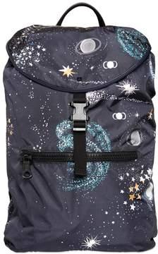 Cosmos Printed Nylon Backpack